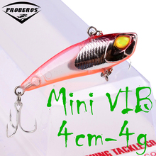 "1pc Plastic Fishing Lure 4.2cm-1.7""/0.15oz-4.02g Mini VIB Lure Fishing bait 12# Hook Fishing Tackle(Hong Kong)"