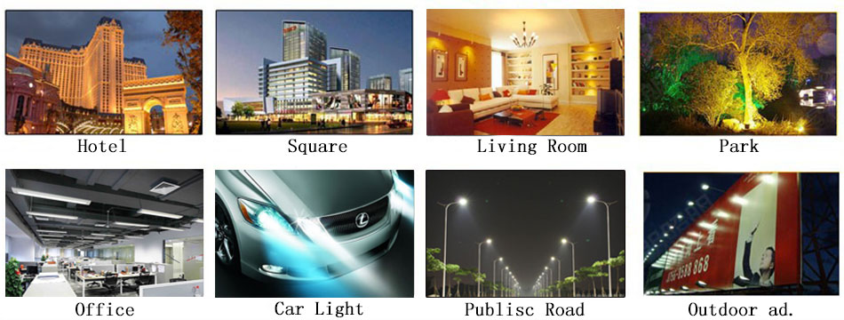 50*7mm COB strip LED lights source chip on board COB bar for wall/ table lamps car lights 3W 5W warm nature cool white