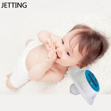 Health Safety Care Thermometer For Children Silicone Medical Baby Nipple Thermometer Pacifier LCD Digital Children's Thermometer(China)