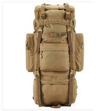 Men's new military backpack waterproof 1680 D Oxford bags travel 70 l backpack   leisure notebook laptop  boy backpack