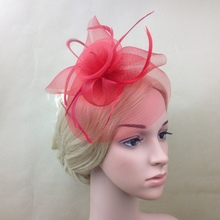 Hot Sales Lady Elegant Fascinator Hat Clips Wedding Party Decor Supplies 5576