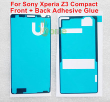 YOU KIT 2PCS/SET Original LCD + Battery Cover Waterproof Sticker Adhesive Glue Tape For Sony Xperia Z3 Compact M55W D5803 D5833