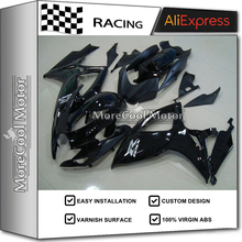 New Injection Mold K6 GSX-R600 750 06 07 For Suzuki Fairings 2006 2007 Motorcycle ABS Kits Black