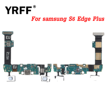 YRFF A+++ For Samsung Galaxy S6 Edge Plus G9280 G928F Charging Port Charger Connector USB Dock Flex Cable Free Shipping(China)