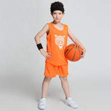 Students Basketball Team Uniforms Girls Sports Jerseys Boys Blank Custom Design Throwback Basketball Jerseys Kids Training Suits