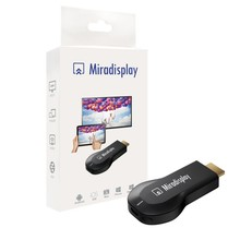 MIRADISPLAY HDMI OTA TV Stick Dongle Wi-Fi Display Receiver better EZCAST EasyCast DLNA Airplay Miracast Airmirroring Chromecast