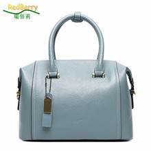 2015 Women Boston Messenger Bags Solid Top PU Leather New Elegant Women Bag Brand New Handbags  Multi Colors Cute Famous Brands