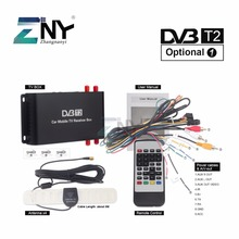 ZNY Car DVB-T2 DVB-T MPEG4 Digital TV Box 4 Seg Support 180-200KM/H Speed Driving Digital Car TV Tuner HD 1080P TV Receiver(Hong Kong,China)