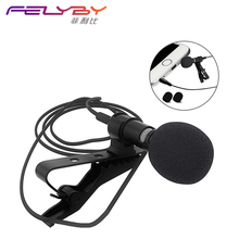 Clip-on drawing mobile phone necklace lavalier microphone microphone for iOS Android phone tablet computer pen recording laptop
