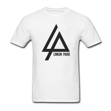 Linkin Park Logo T Shirt Men's Tees Adult Latest Big Tshirt Cool Teenage Tee Shirts in memory of Chester Bennington(China)