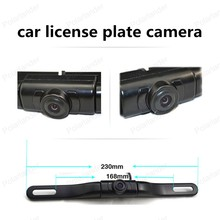 big sale Night Vision 170 degree angle car license plate camera with IR led lights car Rear View Camera