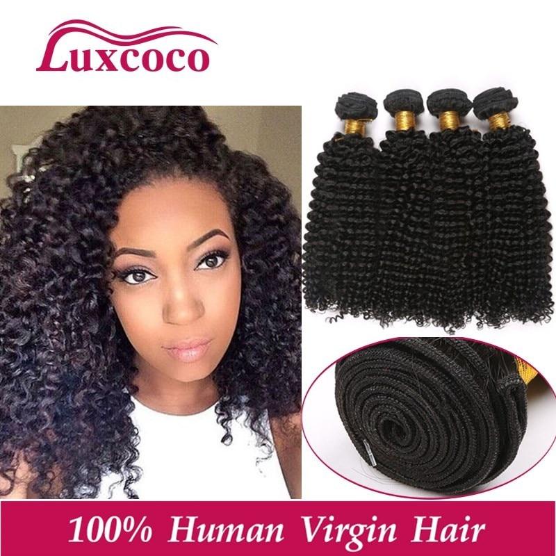 7A Brazilian Kinky Curly Virgin Hair 100% Unprocessed Brazilian Kinky Curly Hair 4pcs/lot Cheap Virgin Human Hair Extension<br><br>Aliexpress