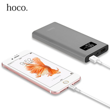 Buy HOCO Mobile Power Bank 10000mah Dual USB LED Display External Battery Quick Charge Portable Charger iPhone Xiaomi Powerbank for $18.58 in AliExpress store