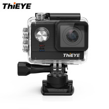 ThiEYE T5e WiFi 4K 30fps Action Camera 12MP 2 inch TFT LCD Screen Videos Ambarella A12LS75 Chipset Sports Action Cam 2 battery