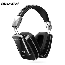Original Bluedio F800 Bluetooth 4.1 Headphone Wireless Headphones Foldable Active Noise Cancelling Earphone Bass Metal Headset