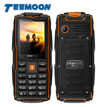 "Vkworld 2017 New Stone V3 IP68 Rugged Waterproof Shockproof phone 3000mAh Flashlight Power Bank 2.4"" Outdoor mobile phone"