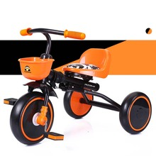 Infant Shining baby Tricycle stroller Kid Bike for Boy Girl Gift Children Scooter 1-3Y Folding Portable Bicycle Learn to Walk