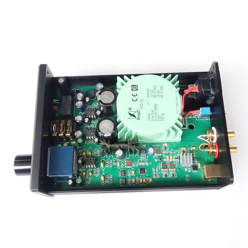 Breeze Audio U8 USB DAC LM49860 ES9018K2M XMOS earphone audio amplifier Support DSD
