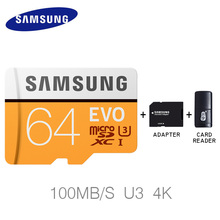 hot sale samsung microsd 32gb memory card 64gb 128gb EVO SDHC SDXC with adapter high speed micro sd card cartao de memoria 32 gb(China)