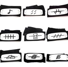 1Pcs/set Cool Naruto Forehead Fashionable Guard Headband Cartoon Cosplay Accessories for kits girls naruto headband