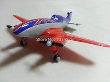 Disney Pixar Planes No.11 Bulldog Metal Diecast Toy Plane 1:55 Loose New In Stock & Free Shipping(China)