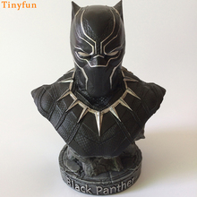 Black Panther Bust Statue Resin Action Figure 1/8 scale painted figure Bust Black Panther Resin figure Garage Kit Toy Brinquedos