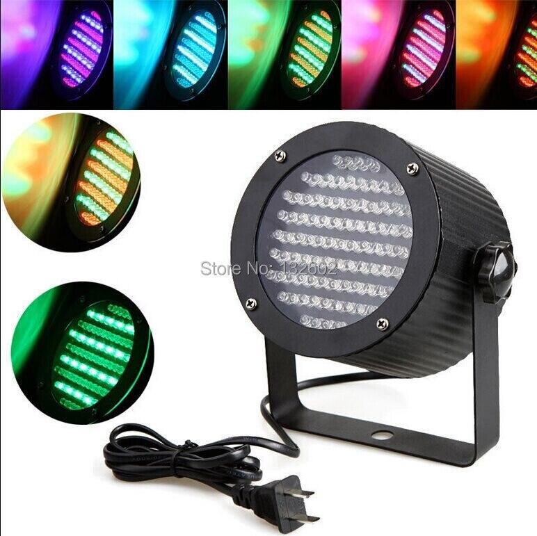5Pcs 86 LEDs RGB LED Light DMX Lighting Laser Projector DJ Disco Stage Light US Plug Free Shipping<br>