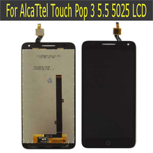For Alcatel One Touch Pop 3 5.5 OT5025 5025D 5025 LCD Display with Touch Screen Digitizer
