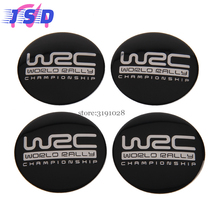 Arc Surface Hub Caps 56.5mm Wheel Center Badge for WRC Logo for Porsche MINI Cooper Renault Nissan Pontiac Peugeot Rover Subaru(China)