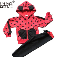2017 New Girls Clothes Minnie Mouse Clothing Sets Cartoon Cotton Casual Tracksuits Kids Clothes Sports Suit Children Clothing