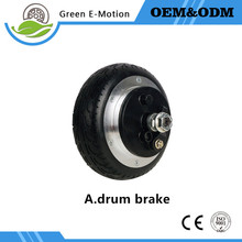 6''dc electric wheel hub motor 36v 200w250w300w electric scooter skateboard motor folding electric bike bicycle motor