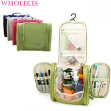 2016 Sale Hot! Great Hanged Man Travel Bag Wash Makeup Organizer Deluxe Hygiene Bag Women Big Cosmetic Bags The Granary