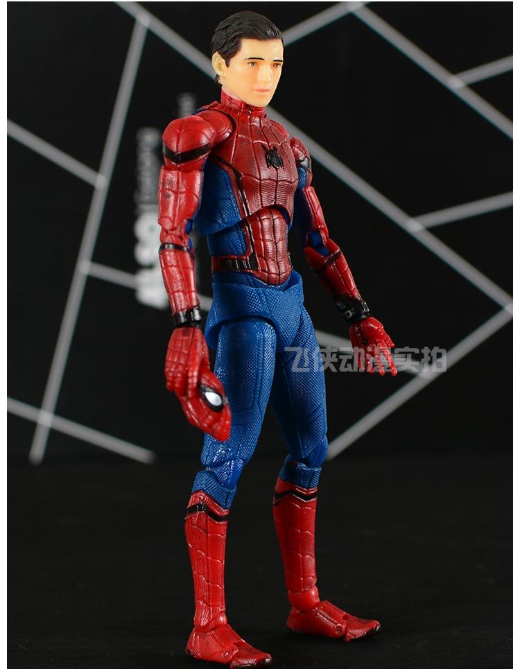 Mafex NO 047 Spider-Man Homecoming Ver Action Figures Medicom Toy KO Version