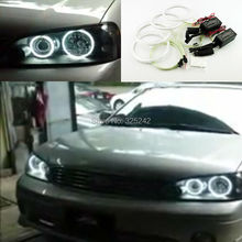 For Ford laser Tierra 2003 2004 2005 2006 2007 Excellent Ultrabright headlight illumination CCFL Angel Eyes kit Halo Ring