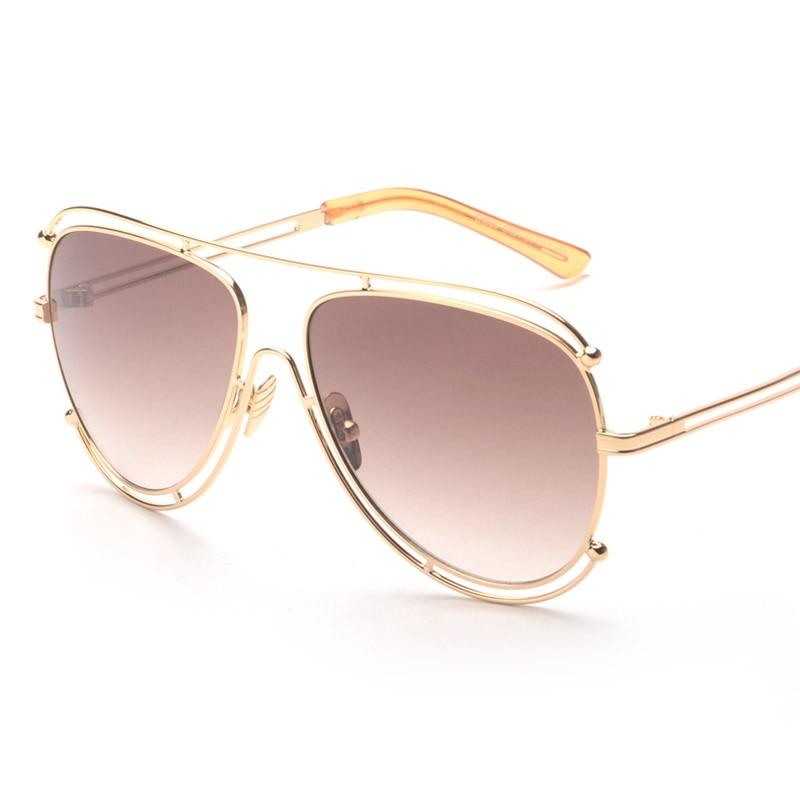 Amazing 5 Colors Wire Wrap Glasses Eyewear 2016 New Vintage Fashion Summer Sunglasses Women Men Brand Designer oculos de sol<br><br>Aliexpress