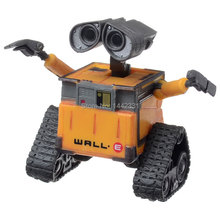 Cute Small 6.3cm High Quality Wall-E WALL.E Robot Tank Excavator Pixar Loose Action Figure Move boys' Collection Model Toy Gift