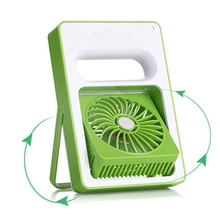 New Rechargeable USB Fan Portable Handheld Mini Fans for Home Outdoor Air Cooler Conditioning 180 Angle Adjust For Tablet PC(China)