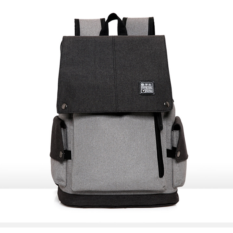 TOP POWER New Men Male Oxford College Student Backpack External USB charge 15.6inch Laptop Backpack Travel Bag Women Bag<br>