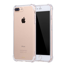 Silicone Clear TPU Case For iPhone 5s 5SE case For iPhone 7 plus 6s 6plus Ultra Thin Crystal Back Protect Rubber Phone Cover Gel