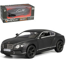 RMZ City Bentley continental GT  1/36 Scale 5 Inch  Vehicles Alloy Pull Back Car Replica Authorized Original Factory Model Toys