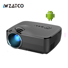 Smart Miracast Airplay WIFI For Iphone Android Wireless projection Cinema Video HDMI VGA TV HD 1080P Home Theater 3D Projector