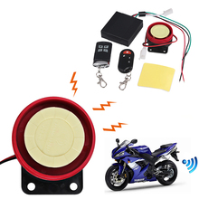 Motorcycle Anti-Theft Security Alarm System Remote Control Alarm Anti Theft Protection Alarm Motorbike Security For Honda Yamaha