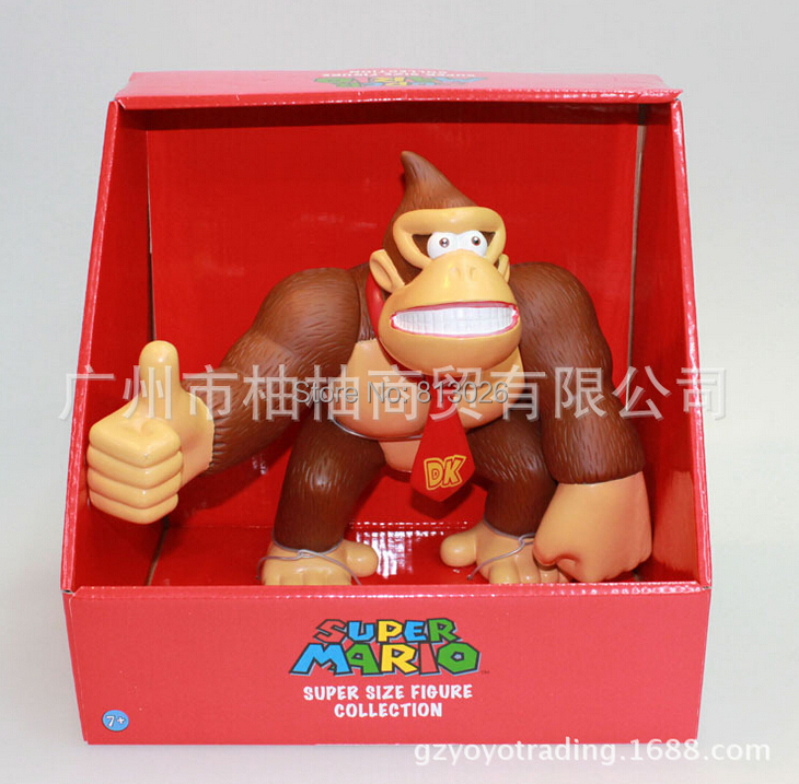 Super Mario Bros Donkey Kong figures PVC Collection figures toys for christmas gift brinquedos ToyO0072<br>
