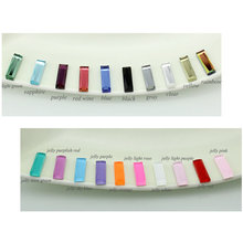 5*15mm Mix colors Jelly Color Rectangle Garment Rhinestone Glue On Glass Flatback Stone 100pcs/pack
