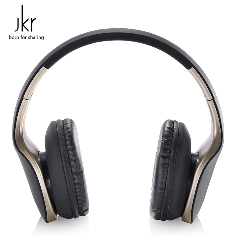 JKR-102 Wire Headphone  with Microphone Headband Headset Support AUX in Common Headphone for PC and Mobile Phone<br><br>Aliexpress