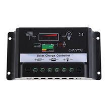 Professional Solar Panel Battery Regulator Charge Controller 12V 24V Auto Switch panel solar Accessories power bank Regulator HR(China)