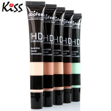 Face Maquiagem Base Contour Foundation Skin Beauty 1pc Pro Makeup High Definition Invisible Cover Concealer Skin Cream 5 Colors(China)