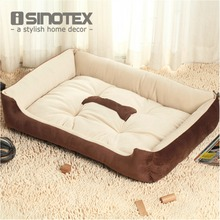 Plus Size Large Dog Bed Mat Kennel Soft Pet Dog Puppy Warm Bed House Plush Cozy Nest Dog House Pad Warm Pet House(China)