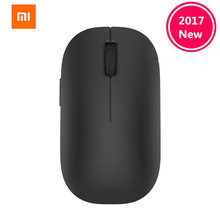 Original Xiaomi MI Portable Mouse Remote Wireless Optical RF 2.4GHz Dual Mode Connect Computer Windows 7 / 8 / 10