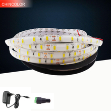 12V 5630 High quality waterproof LED strip LED light 5m/roll 300led 5730 flexible bar light with power supply home decoration FA